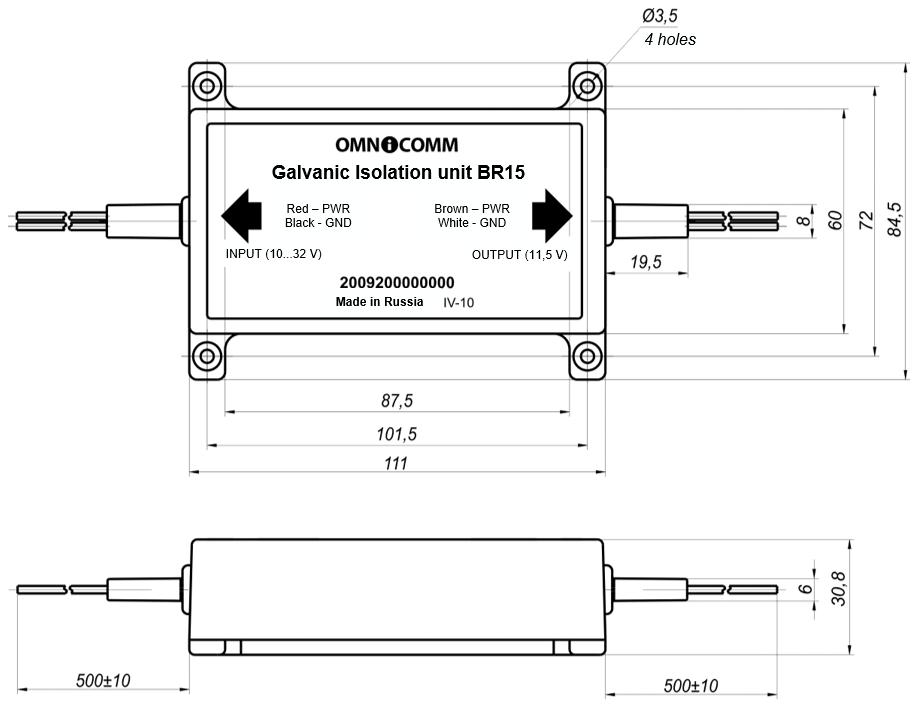 Appendix  Dimensions And Pinout  U2014 Omnidoc