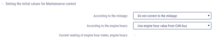 Use CAN bus engine hours reading