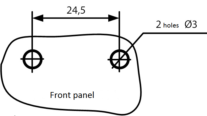 Mounting dimensions